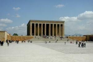 The Anıtkabir in Ankara.