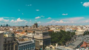 A view of the city of Madrid